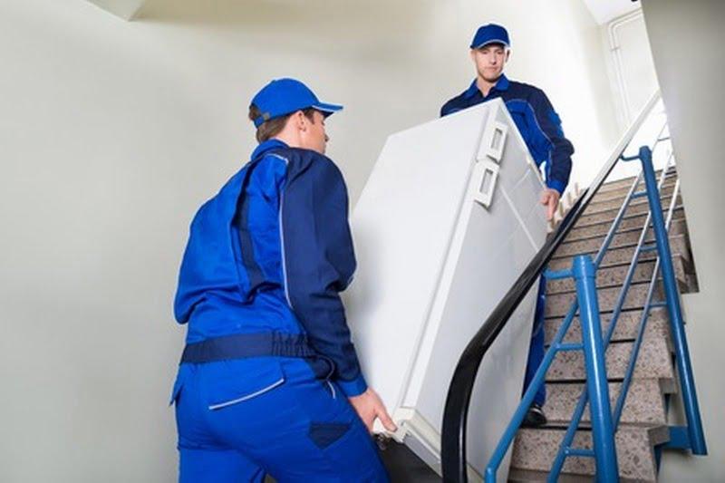 Transport frigo escaliers