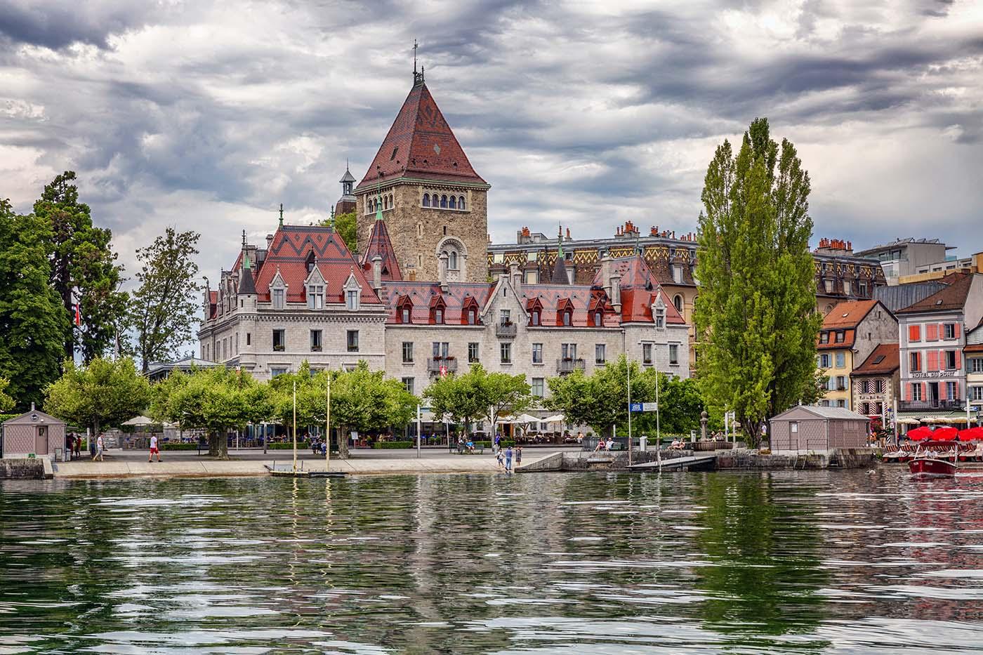 ville de Lausanne ouchy